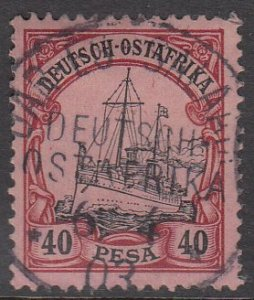 German East Africa 18 Used CV $22.50