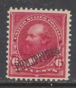 Philippines 221 MNH 1901 overprint on U.S stamp