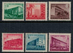 Hungary #962-7*  CV $6.40