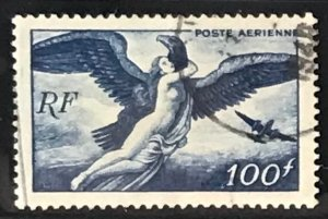 France #C20 Used CV$3.25 Zeus carrying Hebe/Bird