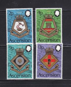 Ascension 166-169 Set MNH Coats Of Arms (A)