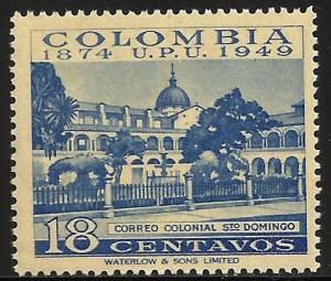 Colombia UPU 1950 Scott# 586 MNH
