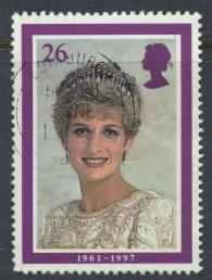 Great Britain SG 2023 Used    - Diana Princess of Wales