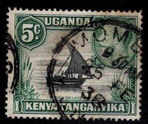 Kenya Uganda and Tanganyika KUT  Scott 47 used