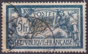 France #130 F-VF Used CV $5.00  (Z3042)