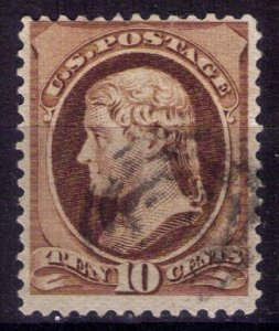 US Sc 150 Used DARK BROWN F-VF