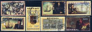 Senegal; 1991: Sc. # 932-938: O/Used Cpl. Set