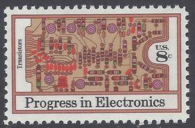 #1501 8c Electronics Progress-Transistors 1973 Mint NH