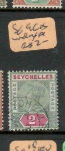 SEYCHELLES  (P2605B)  QV   2C    SG  9  INDEX A         VFU