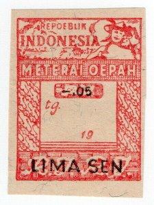 (I.B) Indonesia Revenue : Wages Tax 5c (Upah)