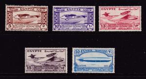 Egypt the 1933 Air Congress set MH