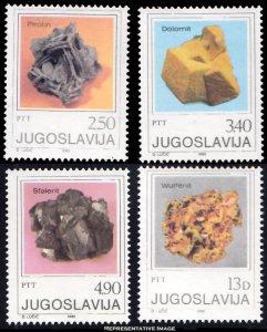 Yugoslavia Scott 1498-1501 Mint never hinged.