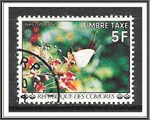 Comoro Islands #J8 Postage Due Flowers CTO