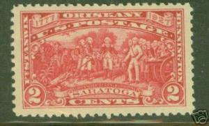 USA Scott 644 MNH**Washington Saratoga 2c red 1927