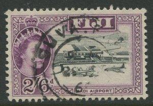 STAMP STATION PERTH Fiji #172 QEII Definitive Issue Used 1961 CV$1.75