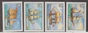 Tuvalu Scott #353-356 Stamps - Mint NH Set