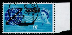 SG645, 1s 6d blue & black, FINE USED, CDS.