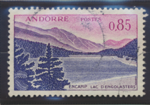 Andorra (French Administration) Stamp Scott #152, Used - Free U.S. Shipping, ...