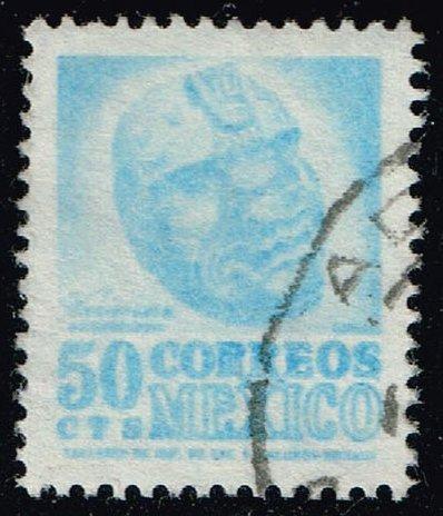 Mexico #881 Carved Head from Veracruz; Used (4Stars)