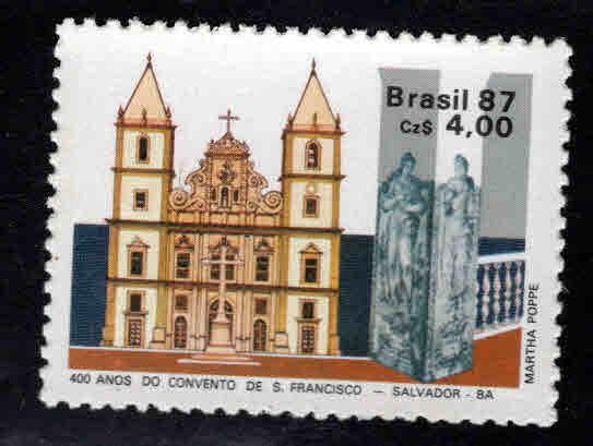 Brazil Scott 2117 MNH** church stamp
