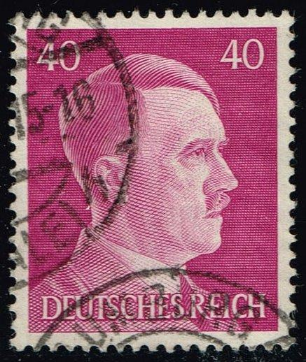 Germany #520 Adolph Hitler; Used (0.45)