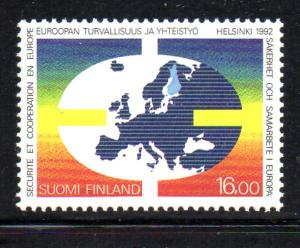Finland Sc 881 1992 Sec & Coop Conference stamp mint NH