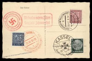 3rd Reich Germany 1938 Johannesthal Sudetenland Annexation Provisional Cov 90442