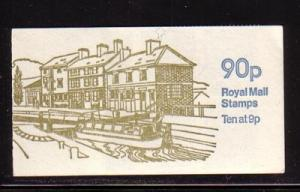 Great Britain Sc BK393 Grand Union Canal 90 p booklet NH