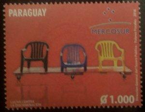 O) 2014 PARAGUAY, MERCOSUR, MNH