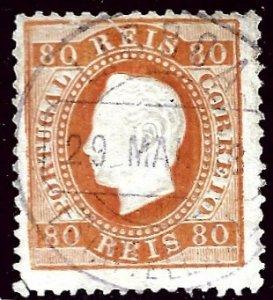 Portugal SC#44c Used Fine SCV$19.00...Worth a Close Look!