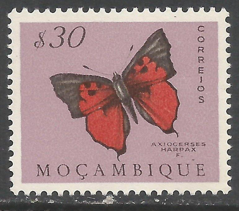 MOZAMBIQUE 367 MNH BUTTERFLY Z7733-2
