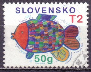 Slovenia. 2015. 777. Children's drawings. USED.