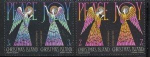 Christmas Island Sc 55-58 1972 Christmas stamp set mint NH