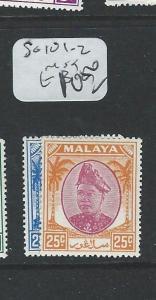 MALAYA SELANGOR (P1208B) SG102-3    MOG