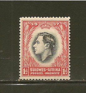 South West Africa 126 King George VI Coronation Mint Hinged
