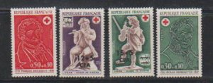 FRANCE #B409-B410-B461-B462   STAMPS (4) MNH- LOT#F68