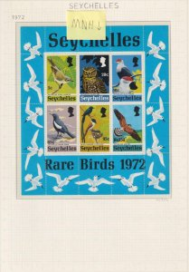 SEYCHELLES EXCELLENT MNH ** AND MINT HINGED * COLLECTION ON ALBUM PAGES - Z267