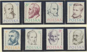 Poland Stamps Scott #769 To 776, Mint Hinged - Free U.S. Shipping, Free World...