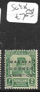 MALAYA TRENGGANU (PP0405B)  MBE 1922 2C  SG 48  MOG