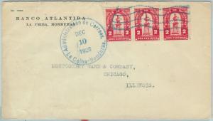 67222 -  HONDURAS - Postal History -  COVER to the USA 1926