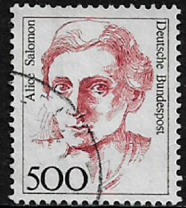 Germany #1494A Used Stamp - Alice Salomon (a)