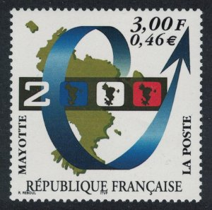 Mayotte Year 2000 SG#100
