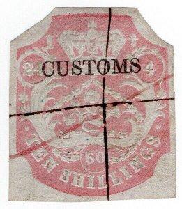 (I.B) QV Revenue : Customs Duty 10/-