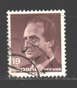 Spain. 1986. 2739. King of Spain, standard. USED.