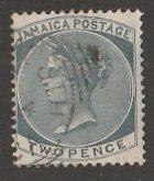 JAMAICA #20a USED