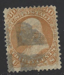 United States Scott # 100 Used