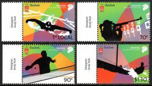 Singapore 1785-1788, MNH. Summer Olympics, Rio, Brasil, 2016