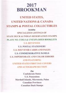 Brookman 2017 - Price Guide - U.S. Stamps - Autographs