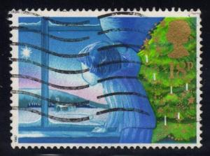 Great Britain #1197 Looking out Window, used (0.45)