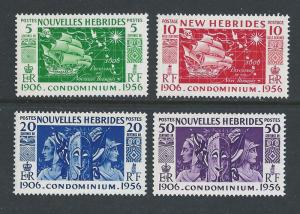 New Hebrides, French #94-7 NH Discovery Anniv.